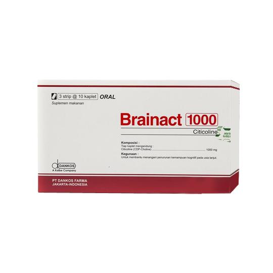 BRAINACT 1000 MG 10 KAPLET