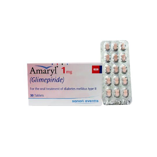 AMARYL 1 MG 10 TABLET
