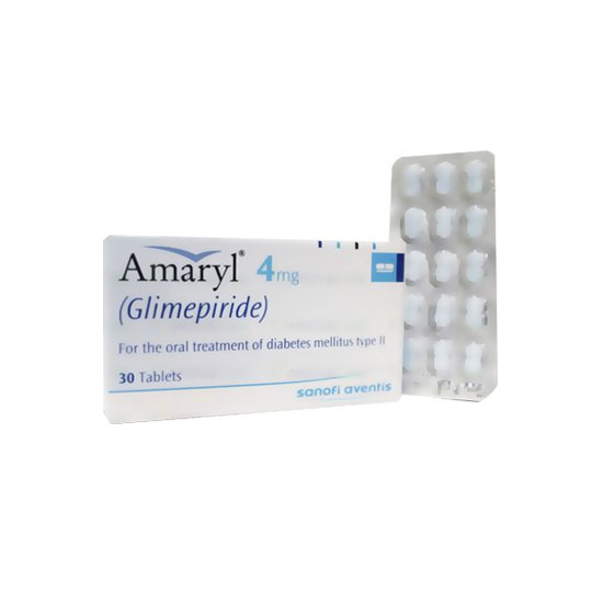 AMARYL 4 MG 10 TABLET