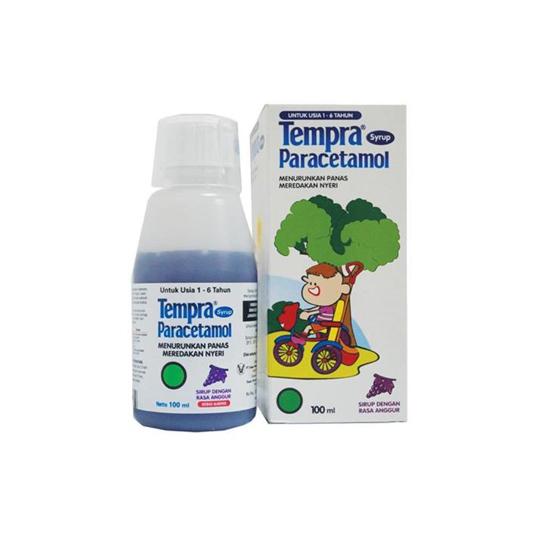TEMPRA SIRUP 100 ML