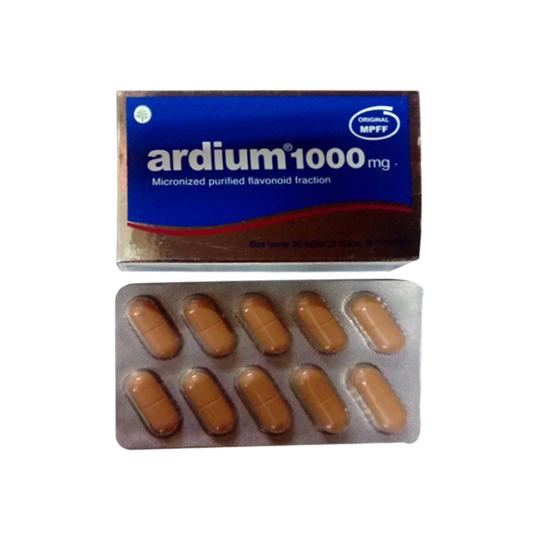 ARDIUM 1000 MG 10 TABLET