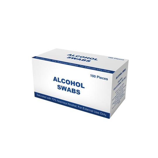 ALKOHOL SWAB 100'S