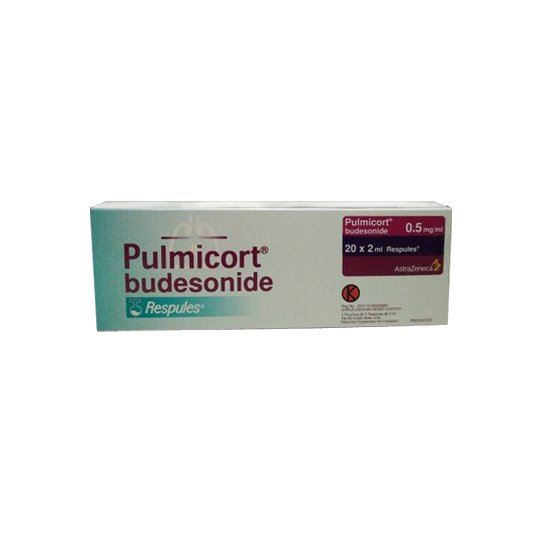 PULMICORT RESPULES 0.5 MG/ML 5'S