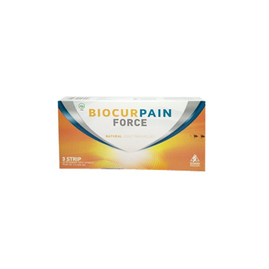 BIOCURPAIN FORCE 10 KAPLET