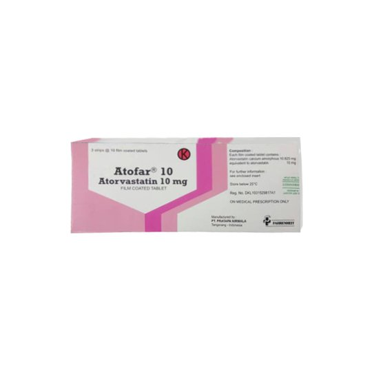 ATOFAR 10 MG 10 TABLET
