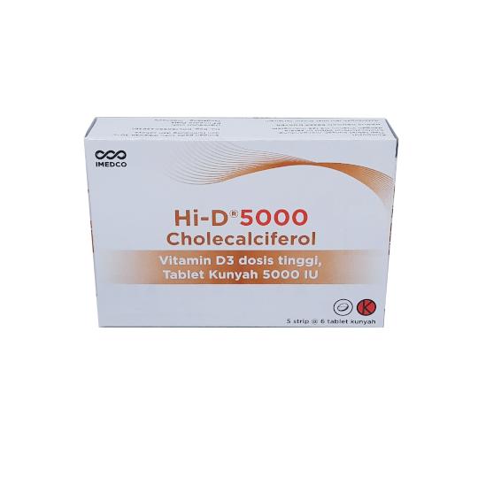 HI-D 5000 30 TABLET - SEHAT HEMAT