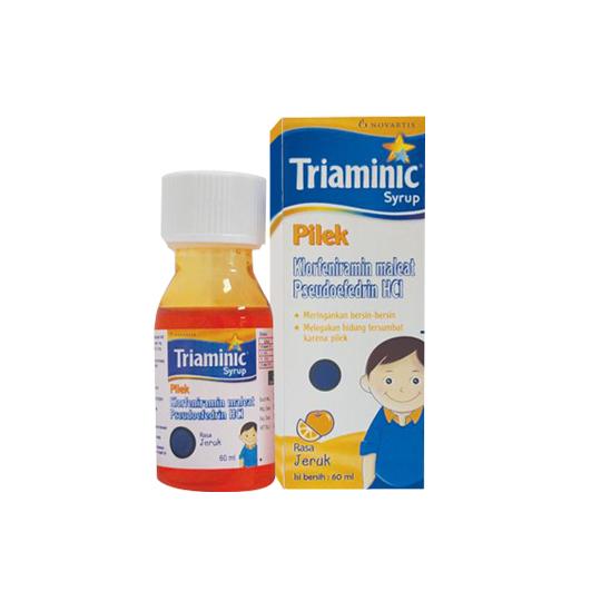 TRIAMINIC PILEK SIRUP 60 ML
