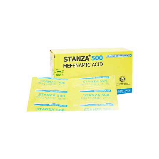STANZA 500 MG 10 TABLET