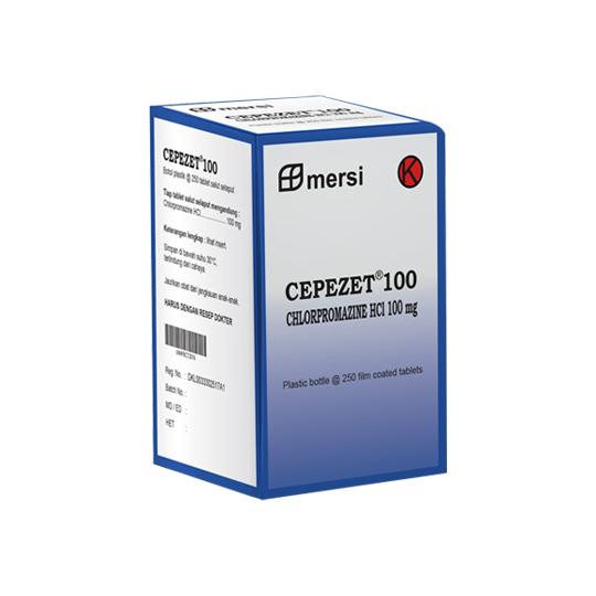 CEPEZET 100 MG 10 TABLET