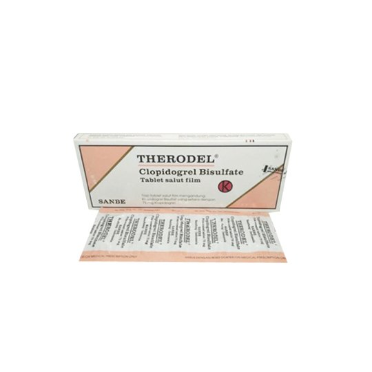 THERODEL 75 MG 10 TABLET