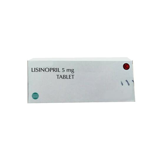 LISINOPRIL 5 MG 10 TABLET