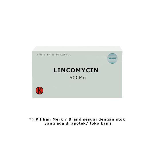 LINCOMYCIN 500 MG 10 KAPSUL