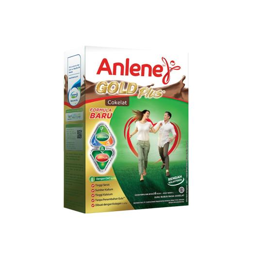 ANLENE GOLD PLUS RASA COKELAT 650 G