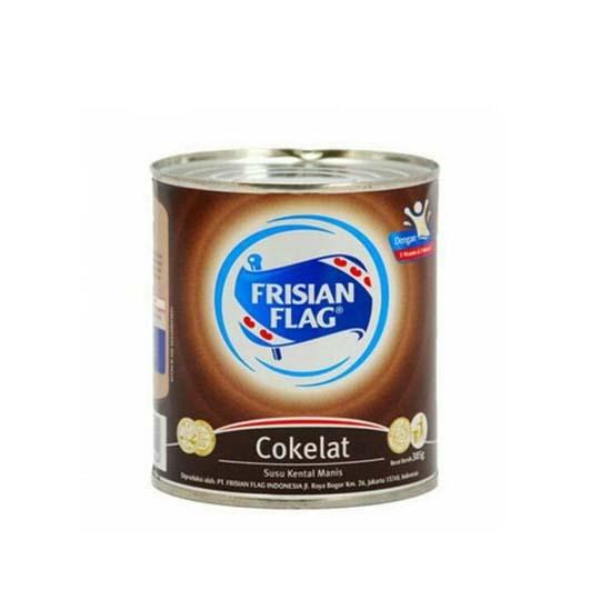 Frisian Flag Kental Manis Coklat 370 g