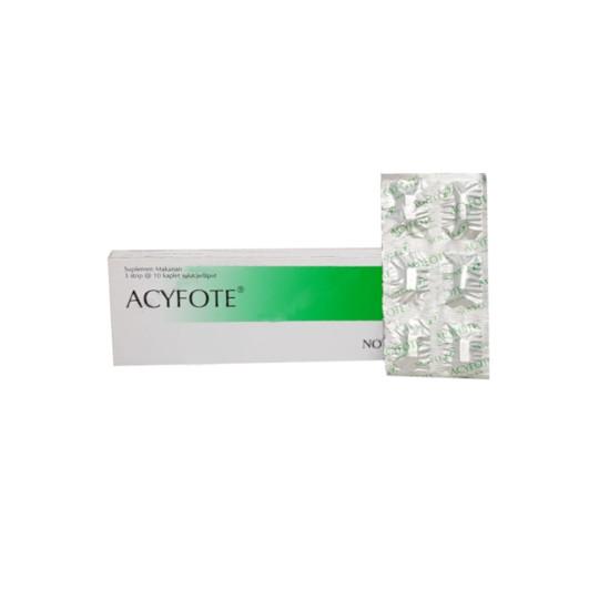 ACYFOTE 10 KAPLET