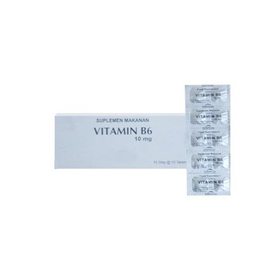 VITAMIN B6 10 MG 10 TABLET