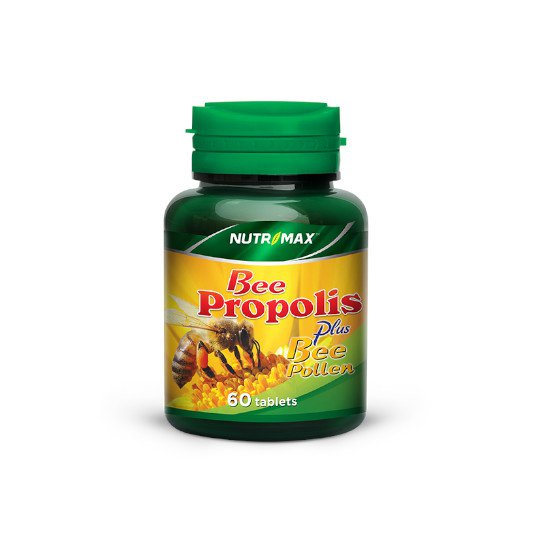 NUTRIMAX BEE PROPOLIS PLUS BEE POLLEN 60 TABLET