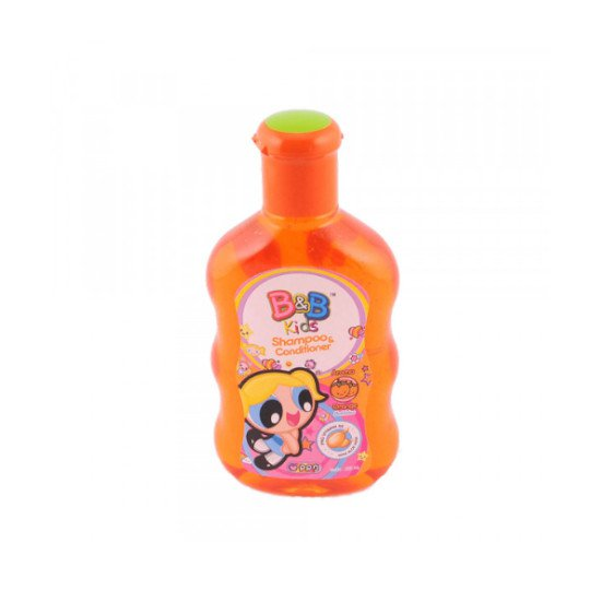 B&B KIDS SHAMPOO & CONDITIONER ORANGE 200 ML
