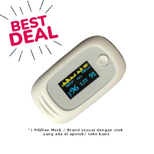 Finger Pulse Oximeter - Random Brand - Sehat Hemat