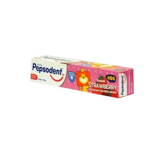 PEPSODENT TOOTH PASTE KIDS STRAWBERRY 50 GR