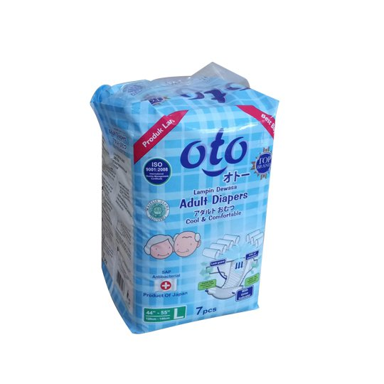 OTO ADULT DIAPERS L 7 PIECES