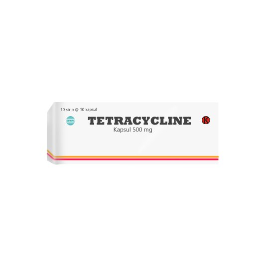 TETRACYCLINE 500 MG 10 KAPSUL