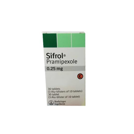 SIFROL 0.25 MG 10 TABLET