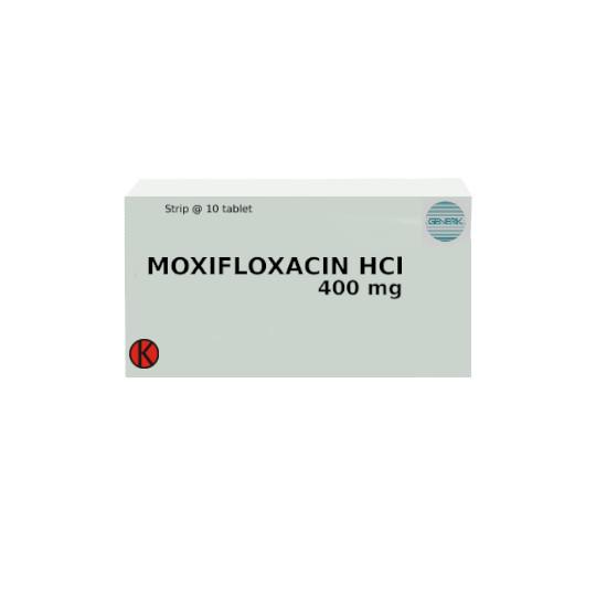 MOXIFLOXACIN HCL 400 MG 10 TABLET