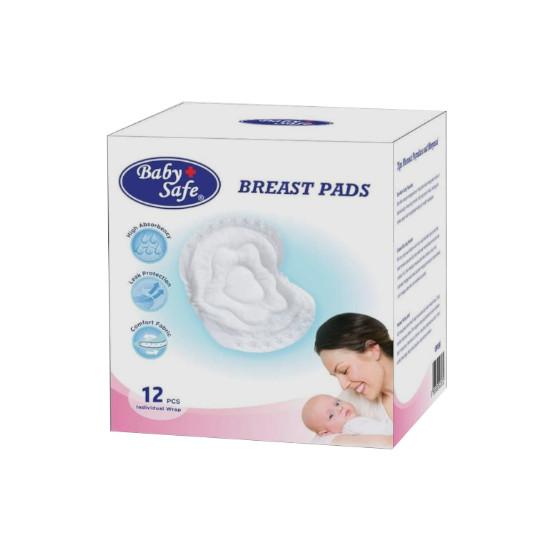 Baby Safe Breast Pad 12 Pieces