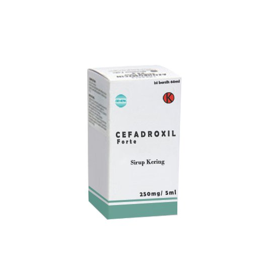 CEFADROXIL FORTE 250 MG/ 5ML SIRUP KERING 60 ML