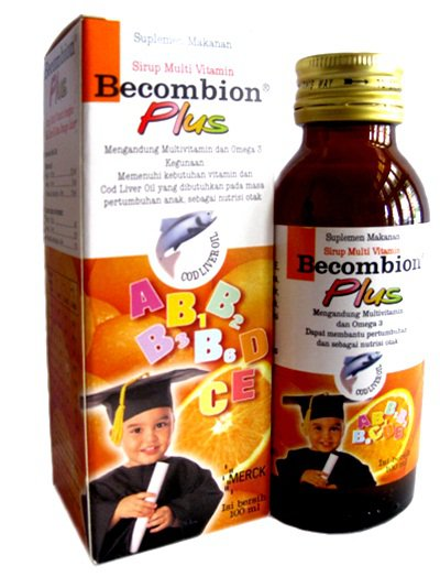 BECOMBION PLUS SIRUP 100 ML