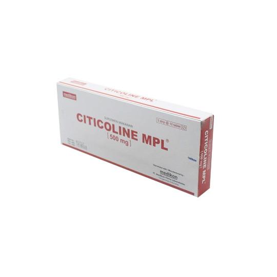Citicoline Mpl 500 mg 10 Tablet