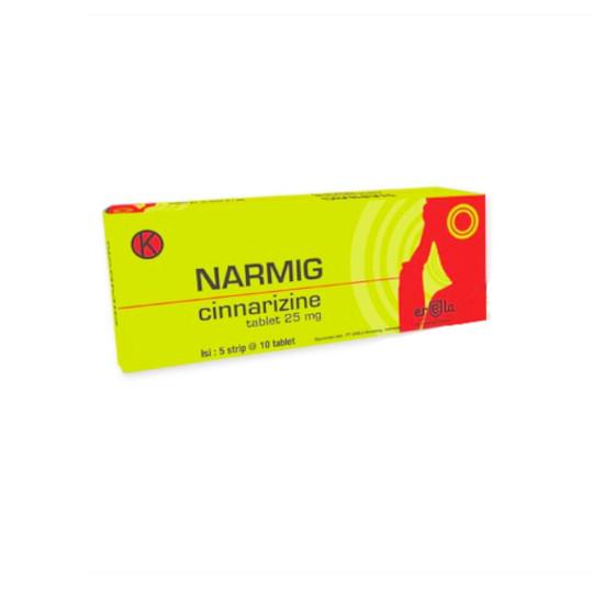 Narmig 25 mg 10 Tablet