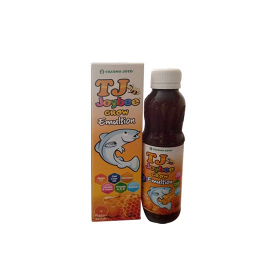 MADU TJ JOYBEE GROW EMULSION RASA JERUK 200 ML