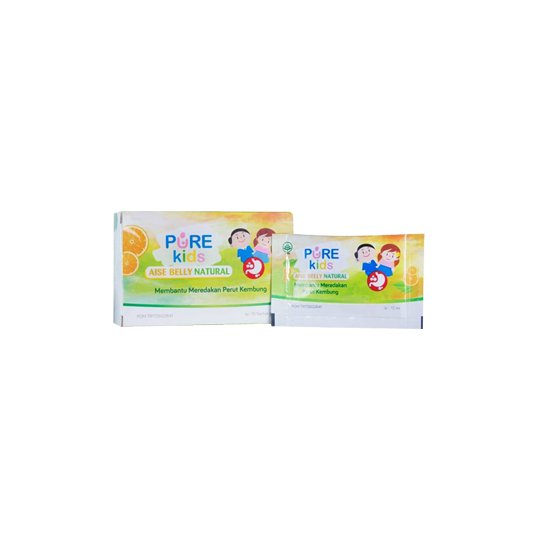 Pure Kids Aise Belly Natural 10 Sachet