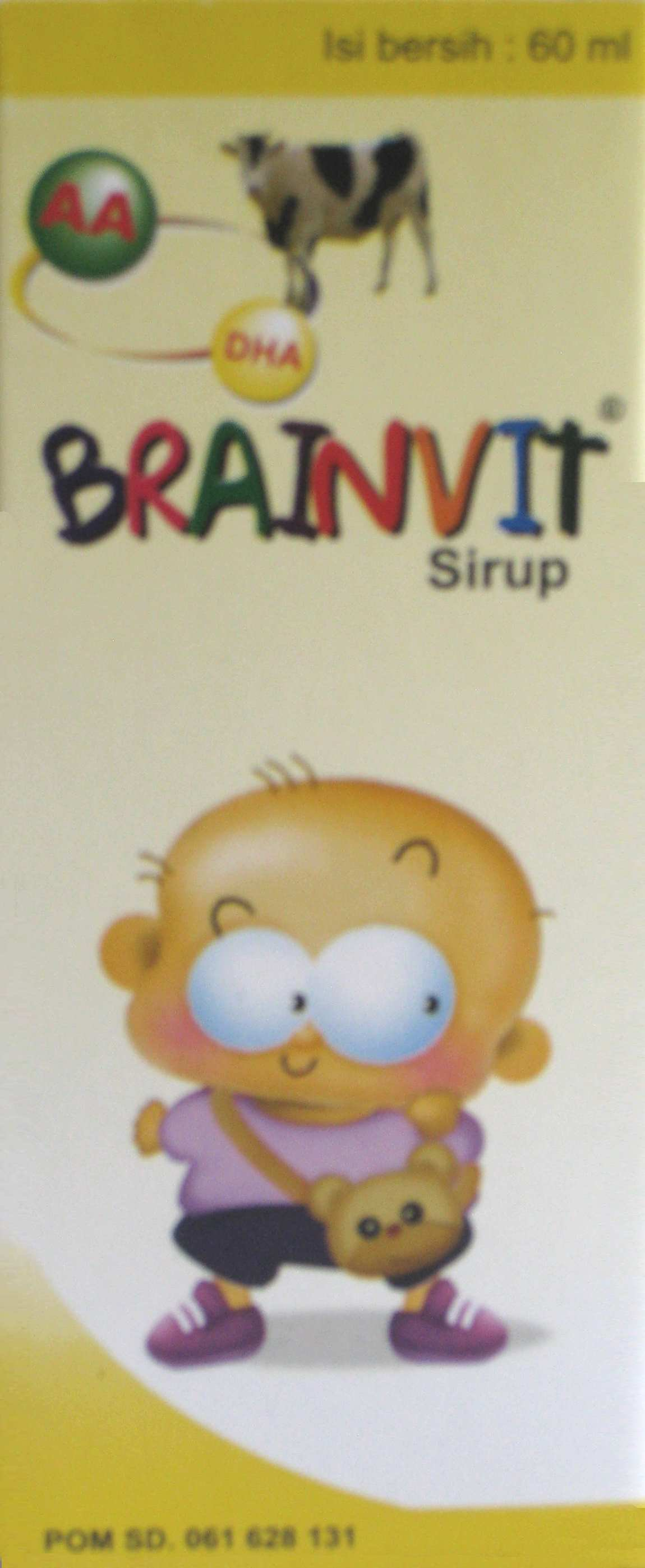 BRAINVIT SIRUP 60 ML