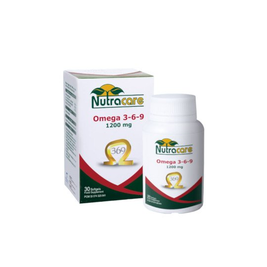 NUTRACARE OMEGA 3-6-9 1200 MG 30 Kapsul