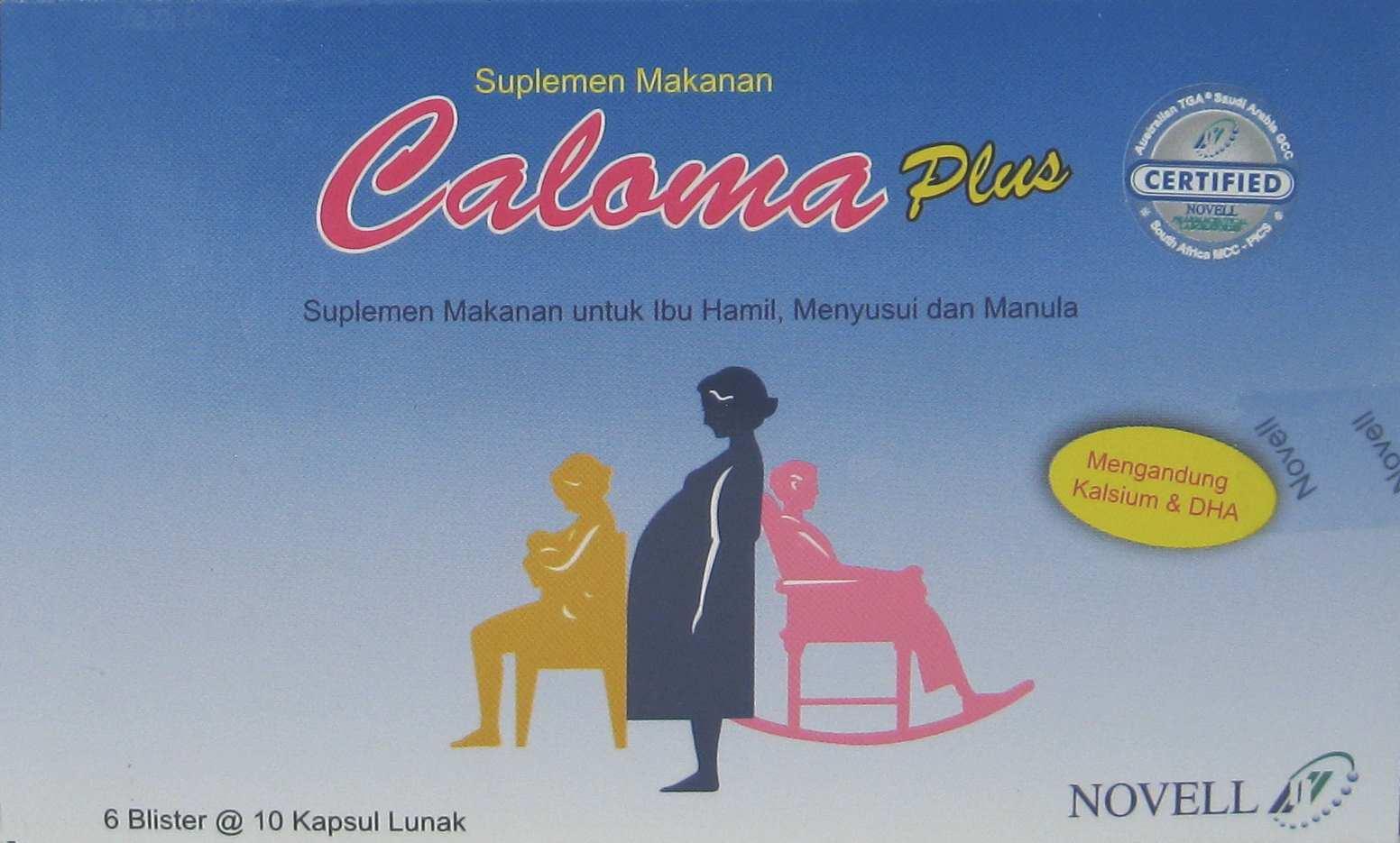 CALOMA PLUS 10 KAPSUL