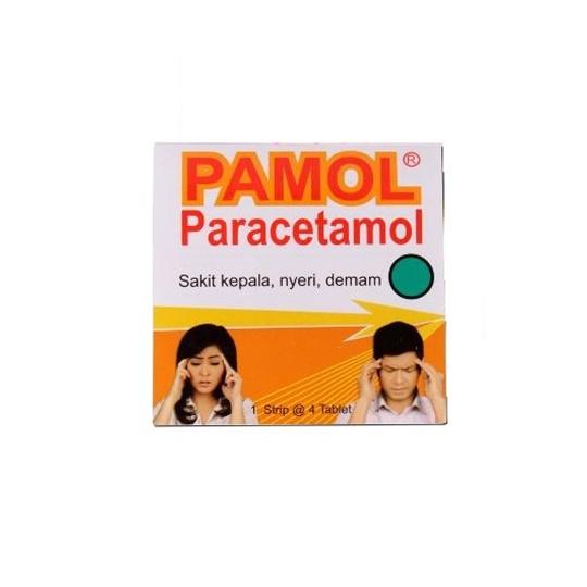 PAMOL 500 MG 4 TABLET