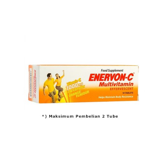 ENERVON C EFFERVESCENT 10 TABLET