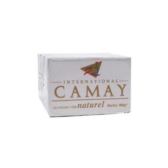 CAMAY NATURAL WHITE SOAP 90 G