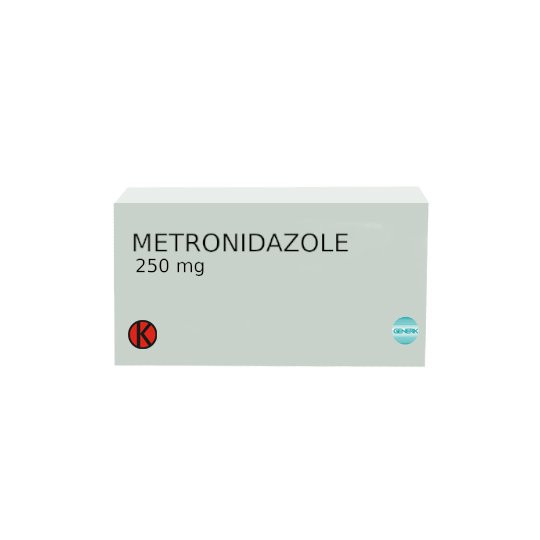 METRONIDAZOLE 250 MG 10 TABLET