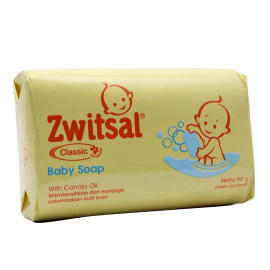 ZWITSAL BABY SOAP CLASSIC BAR 80 G