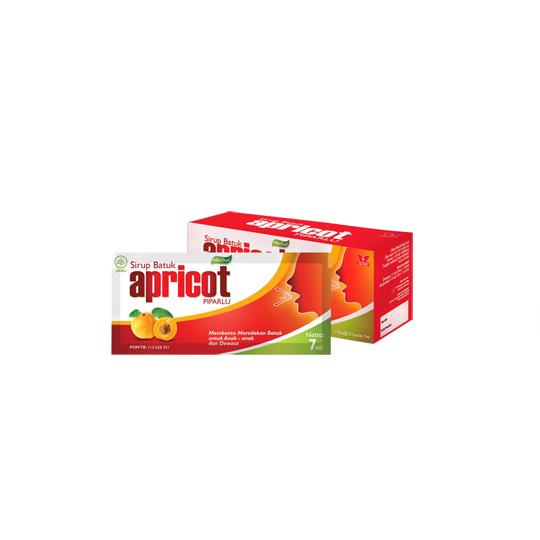 SIRUP BATUK APRICOT PIPARLU 7 ML SACHET