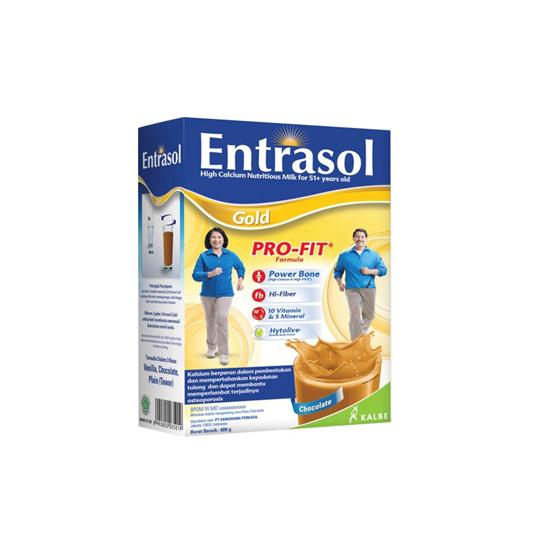ENTRASOL GOLD COKELAT 600 GR