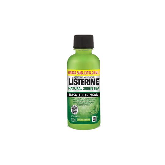 LISTERINE NATURAL GREEN TEA 100 ML