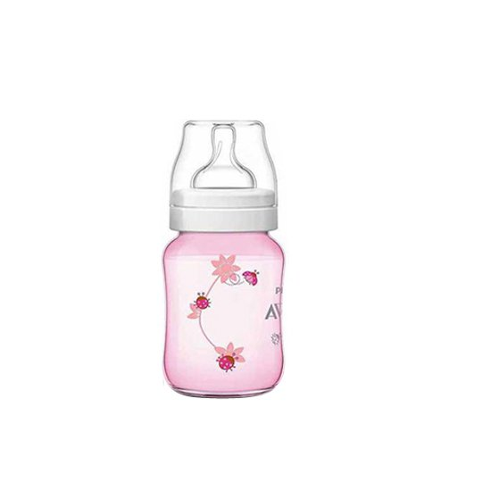 AVENT BOTTLE CLASSIC+ 260 ML DECO PINK