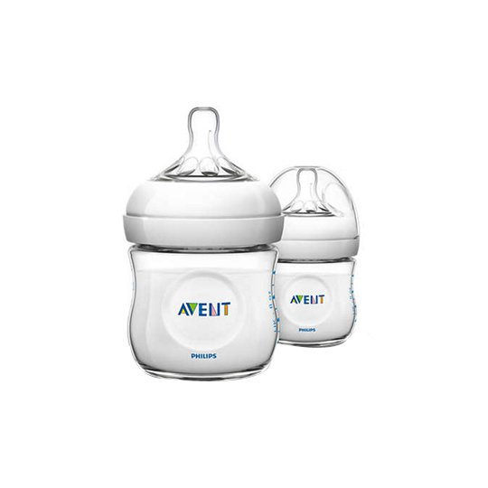 AVENT BOTTLE NATURAL 125 ML TWIN PACK