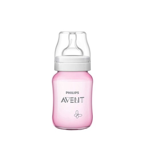 AVENT BOTTLE CLASSIC + 260 ML DECO P&B GIRL