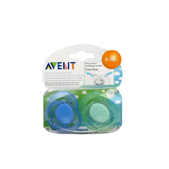 Avent Pacifier Freeflow 6-18 M 2 Pieces